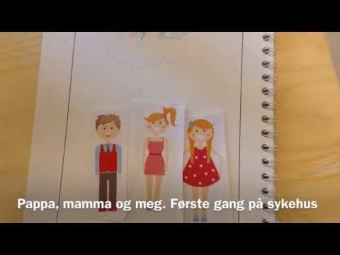 Jente, 6 år   Digitale sykehusfortellinger