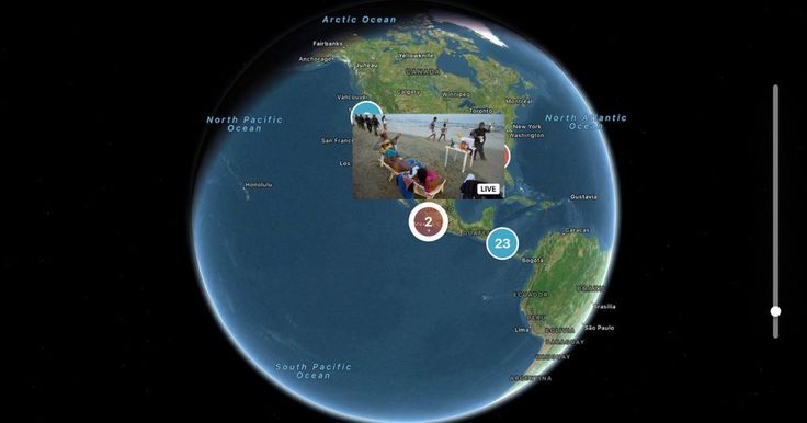 Watch live 360-degree videos from Periscope on the Twitter app for Apple TV. #technology #techinel #technews
