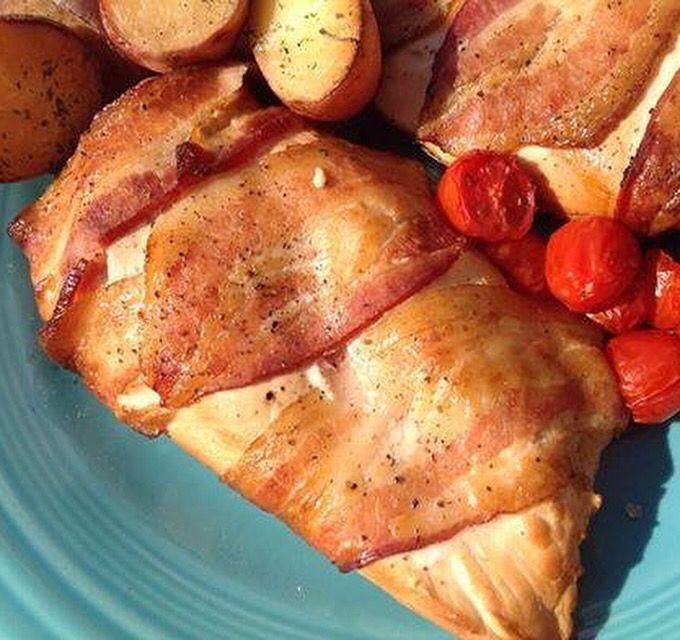 Smoked barbecue chicken breast recipe