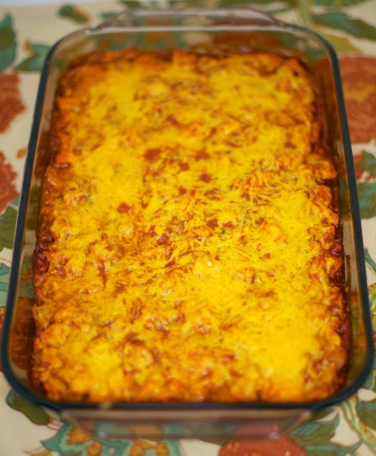 Chicken Tamale Casserole - so quick & easy. We made this two weeks in a row!