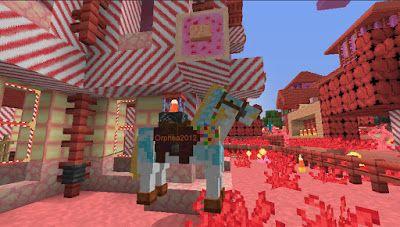 Orphea2012 Youtube et Minecraft: Minecraft | Cheval de Lolic sur notre serveur avec...