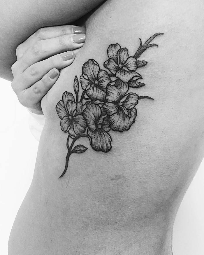 Orchid Tattoo Sleeve Ecosia