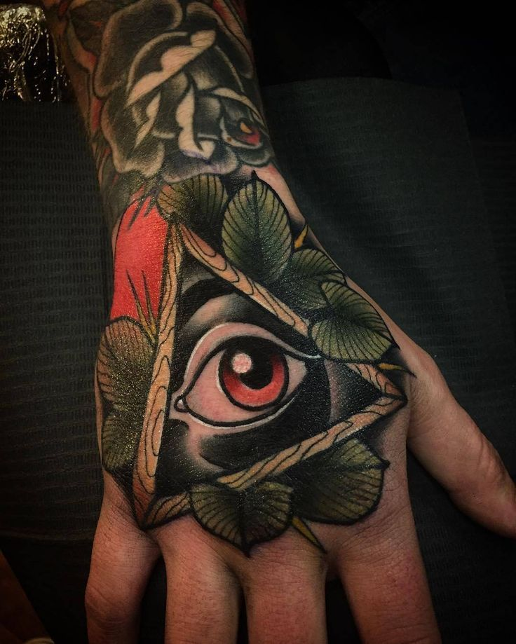 Illuminati Eye Tattoo Meaning 4,379 Likes, 11 Commen...