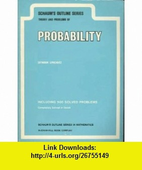 8 best ebook downloads images on pinterest pdf tutorials and book schaums outline series theory and problems of probability seymour lipschutz asin b000uaiaiy outlinetheorypdf fandeluxe Image collections
