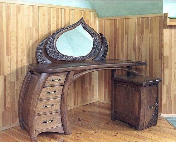 Мебель должна быть красивой, для того, чтобы задавать правильную атмосферу не только в отдельной комнате, но и во всем доме. 1. Домашний уют Деревянный дизайн интерьера спальни.2. Оригинальный дизайн ...
