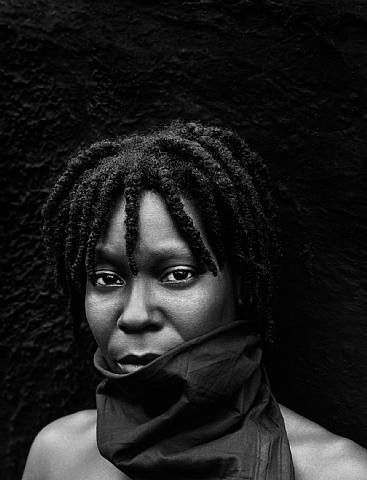 Whoopi Goldberg, New York, 1987 by Herb Ritts.