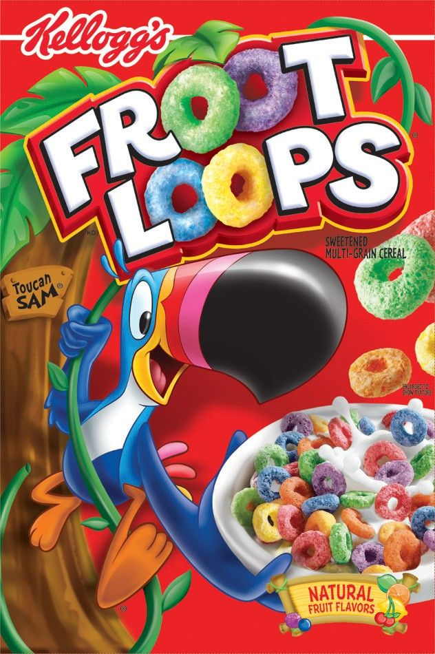 The #1: Froot Loops, Colors, Cereal Boxes, Fruit Loops, Funny Stuff, Graphics, Body Shape, Frootloop, Products