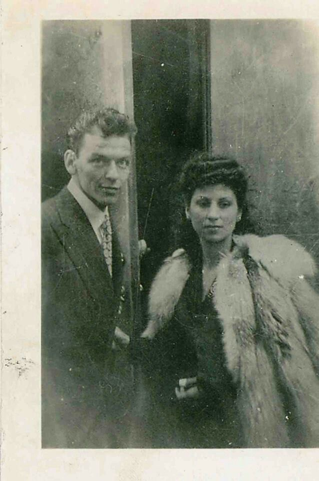 Frank and Nancy, courtesy of Patsy's Restaurant, NYC