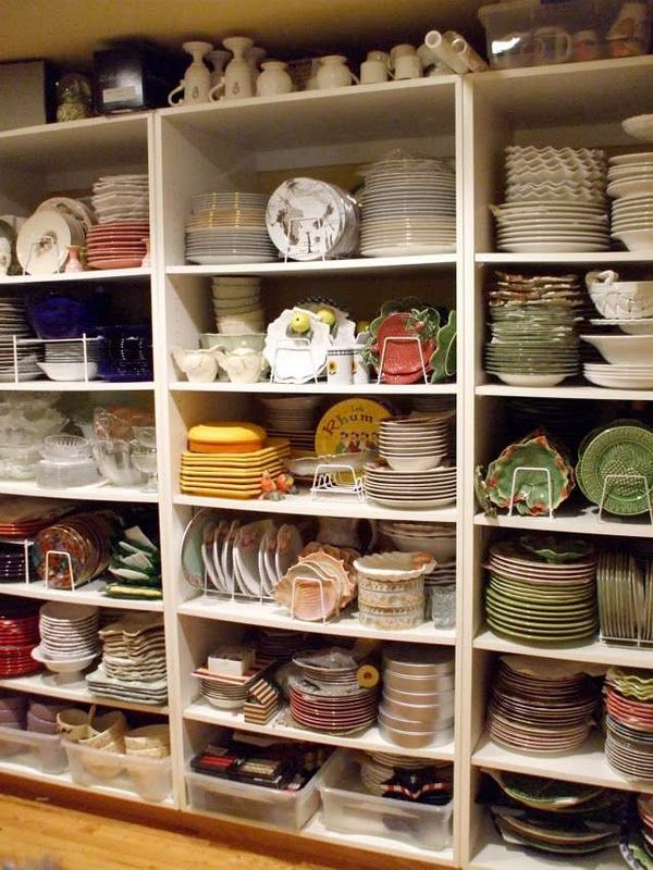 Be still my heart...a dish room! Unbelievable! Take the tour...#Repin By:Pinterest++ for iPad#