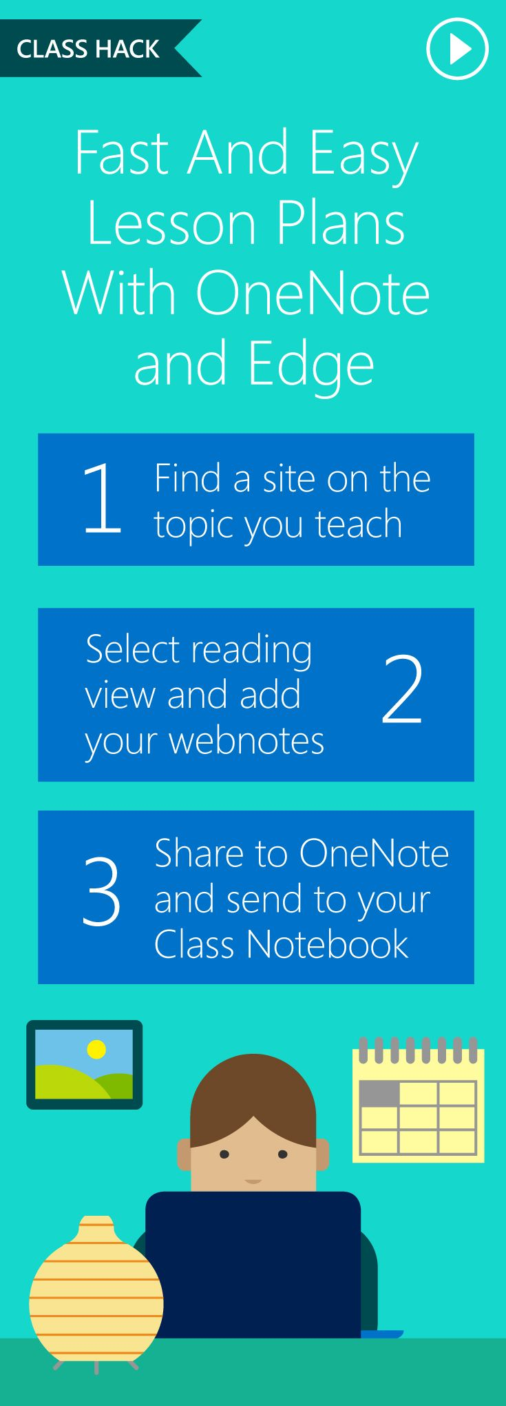Save time in your classroom with our #ClassHack series! Quick tips created by teachers, for teachers. Pin this resource to discover them all! #MSFTEDU