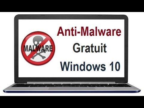 Meilleur Anti Malware Gratuit sous Windows 10