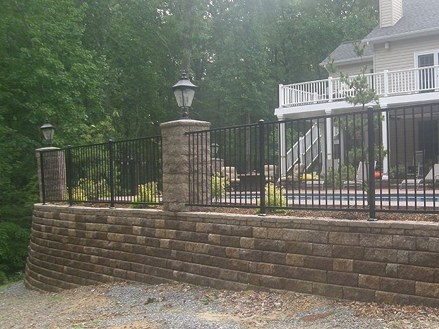 Retaining Wall For Around My Pool Pool Pinterest