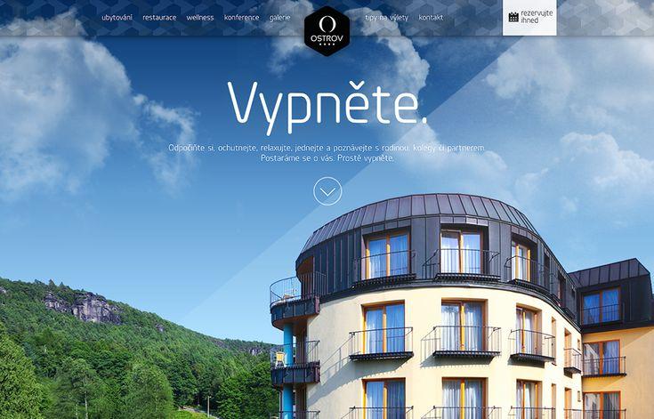 Hotel Ostrov - ubytování uprostřed přírody Českého Švýcarska nedaleko Ústí nad labem a Děčína