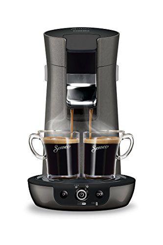 Philips HD7833/51 Machine à Dosettes SENSEO® Viva Café Style Gris métallisé & Finitions premium: 1 ou 2 tasses à la fois Sélecteur…