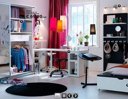 ideas para decorar dormitorio juvenil   inspiración de diseño de interiores