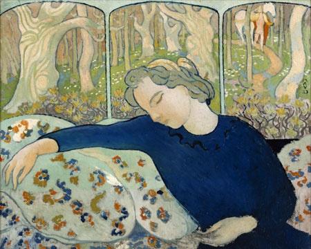 """La Dormeuse"" - Maurice Denis"