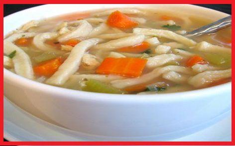Crockpot Chicken Noodle Soup WW Plus+ = 2