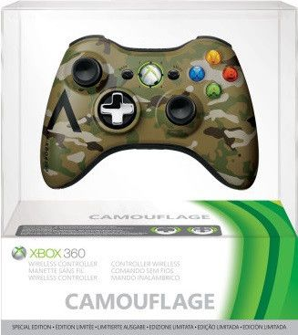 Xbox 360 Special Edition Camouflage Wireless Controller
