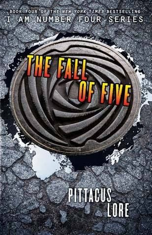 """The Fall of Five"" (The Lorien Legacies #4) by Pittacus Lore"