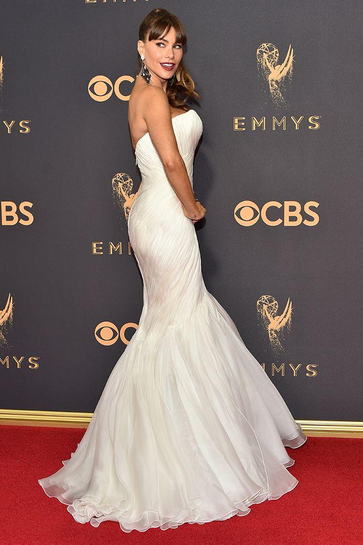 """La alfombra roja de los premios Emmy 2017 reunió a las mujeres de las dos series ganadoras: """"Big Little Lies"""" y """"El cuento de la criada""""."""