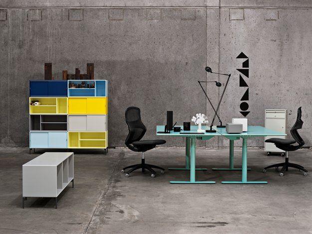 Work space - Mint - Colours - Storage - Design