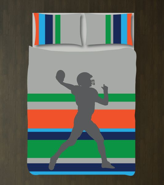 1000 images about football stuff on pinterest football for Boys rugby bedroom ideas