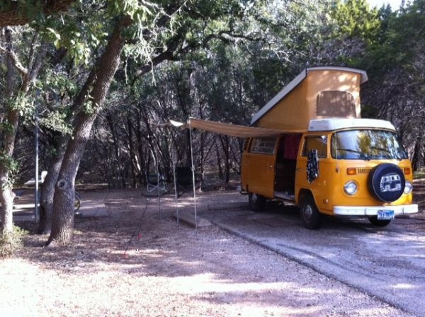 Yellow '76 Westfalia. WANT.