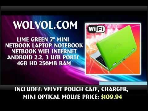 Get best and affordable deals on Mini Laptops, Mini Netbook, Android Netbooks, Kids Notebook, Notebook Computer  other electronic Gadgets at in USA. Know more: http://www.wolvol.com