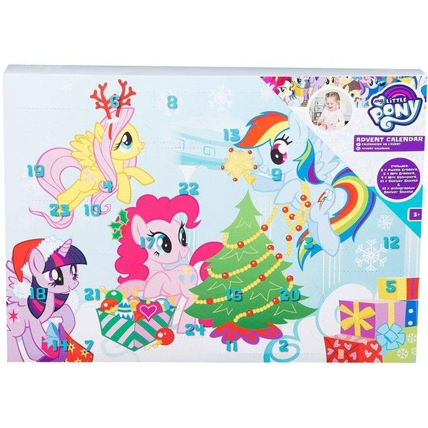 My Little Pony My Little Pony Puzzle Eraser Advent Calendar (€11) ❤ liked on Polyvore featuring home, home decor, holiday decorations, my little pony, holiday window decor, puzzle erasers and holiday window decorations