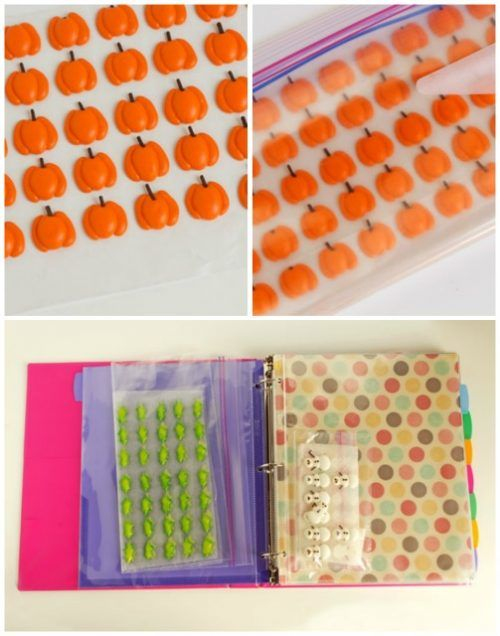 How to Store Royal Icing Transfers