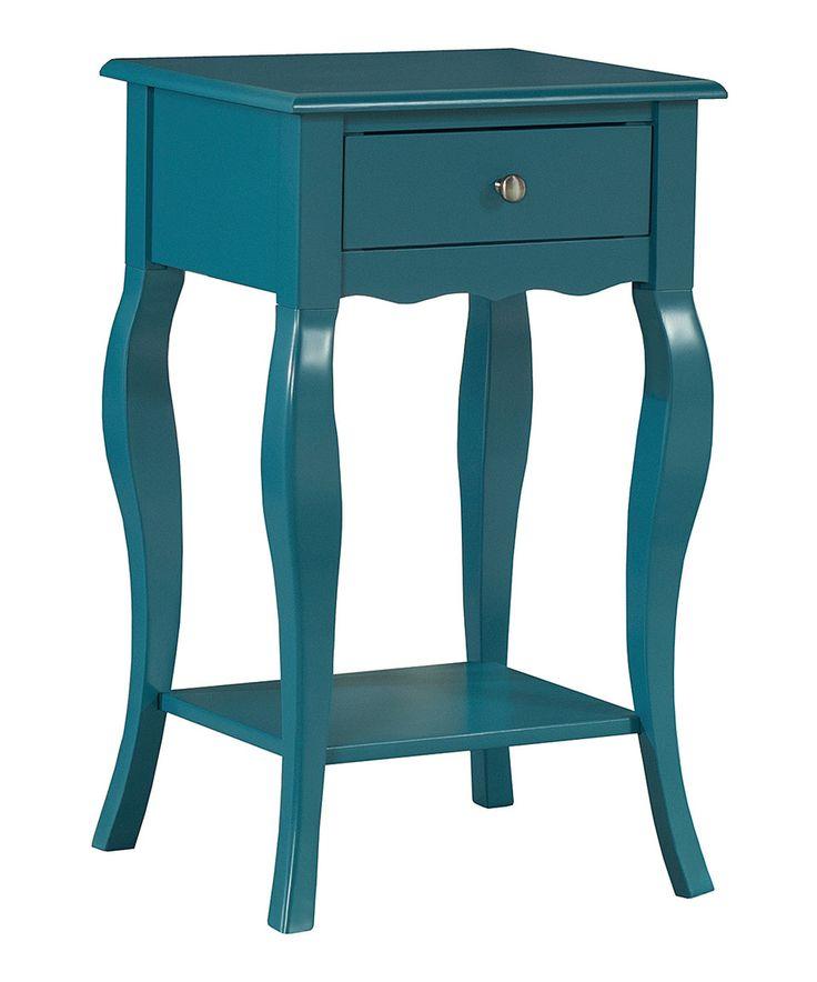Best Blue Alana Accent Table By Homebelle Zulily Zulilyfinds 400 x 300