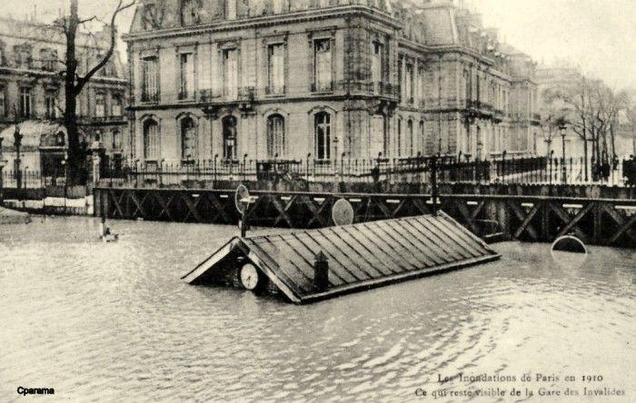 Paris sous les eaux : la grande crue de 1910                                                                                                                                                                                 Plus