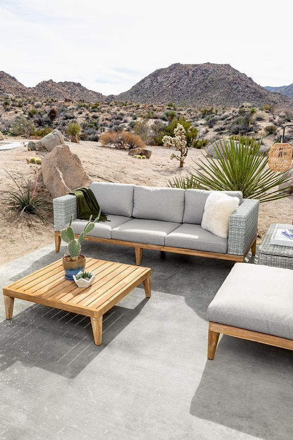 High End Low Profile The Outdoor Urba Patio Collection Allows