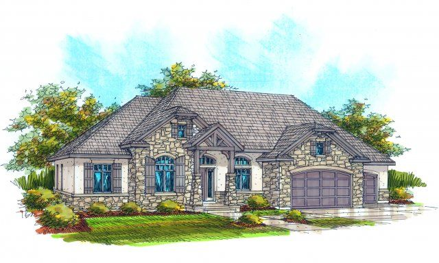 8 best european home plans images on pinterest blueprints for georgetown plan by rainey homes malvernweather Gallery