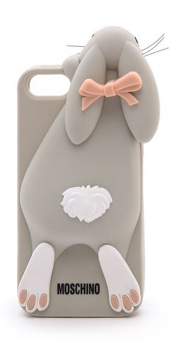 Moschino rabbit iphone 5