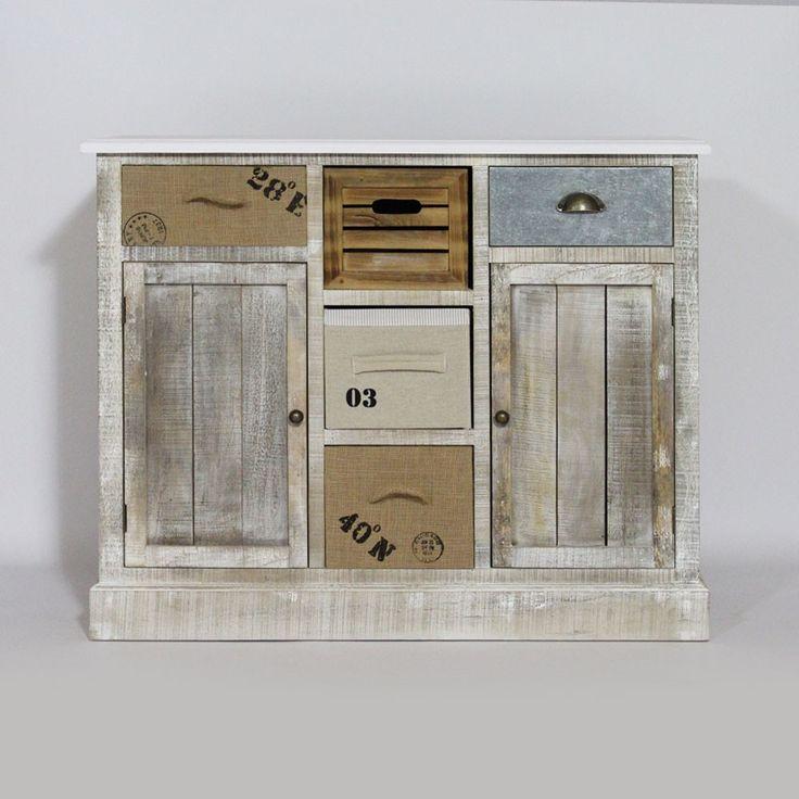 19 best LIVING images on Pinterest Organization ideas, Bathrooms - meuble en bois repeint