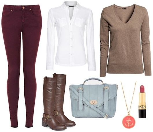 Covert Affairs Outfit Inspiration: I pretty much have all these...