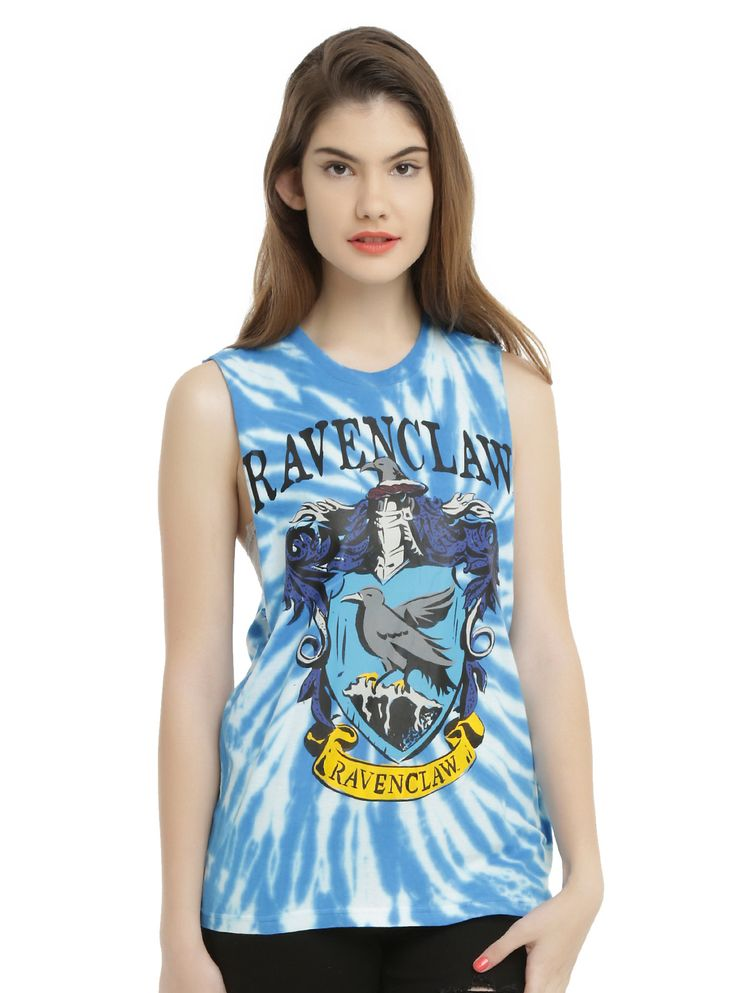 Harry Potter Ravenclaw Tie Dye Girls Muscle Top | Hot Topic
