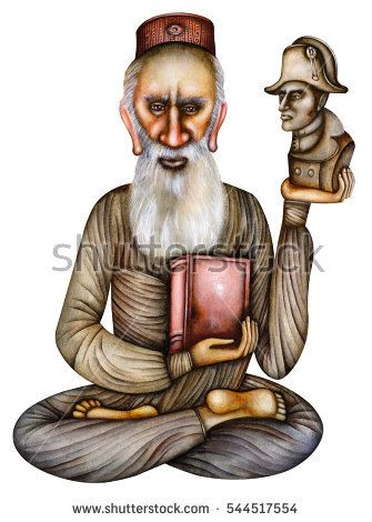 Leo Tolstoy - Caricature Of The Russian Writer by Eugene Ivanov #eugeneivanov #anna_karenina #caricature #cartoon #death_of_ivan_ilyich #leo #literary_arts #literature #nonviolent #russia #russian_writer #tolstoy #war_and_peace #@eugene_1_ivanov