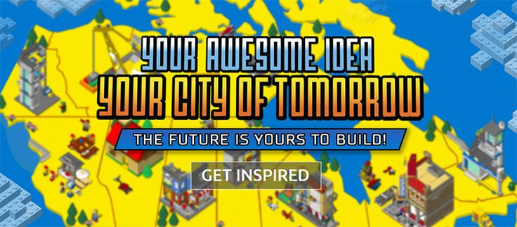 One lucky Canuck will win a LEGO CITY set to help build the LEGO City of Tomorrow!