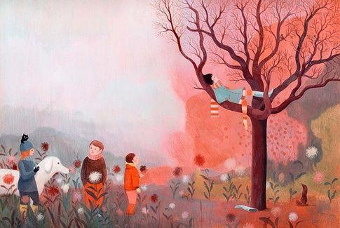 La souris de Paris (The Mouse of Paris)/ Anne Lemonnier/ Editions Sarbacane, 2012. Illustrator:  Claire de Gastold