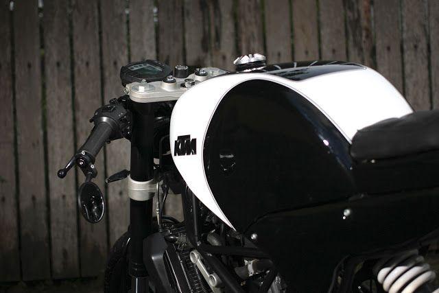 The Duke of Jakarta - Studio Motor KTM Cafe Racer on returnofthecaferacers.com