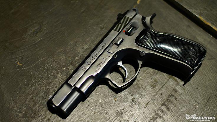 CZ 75B  strzelnica | szkolenia | broń palna | prezent | adrenalina