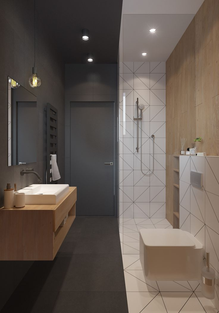 Toilet Design Ideas le carrelage wc se met la couleur pour faire la dco modern toilettoilet ideaswhite Two Storey House Interior Design In A Modern Scandinavian Style For Young Couple Location