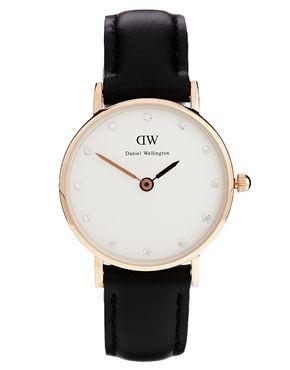 Daniel Wellington Classic Sheffield Black Watch--classic preppy watch