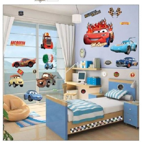 17 best images about movie or book inspired room house for Disney pixar cars bedroom ideas