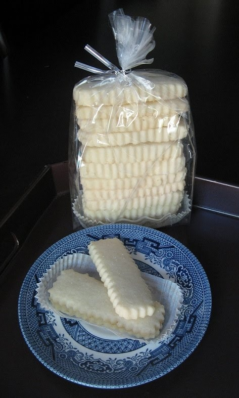 Scottish Shortbread cookies, my personal favorite! It must be all that buttah......I am from Savannah!