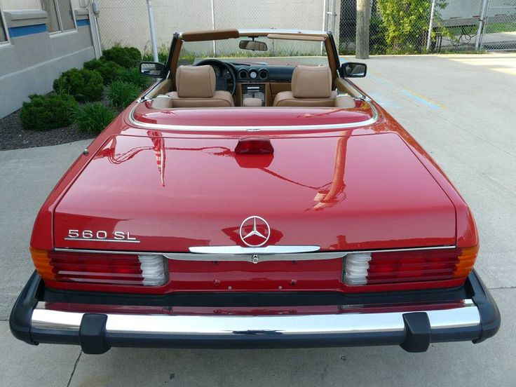 1986 mercedes benz 560sl vintage european iron for Mercedes benz iron