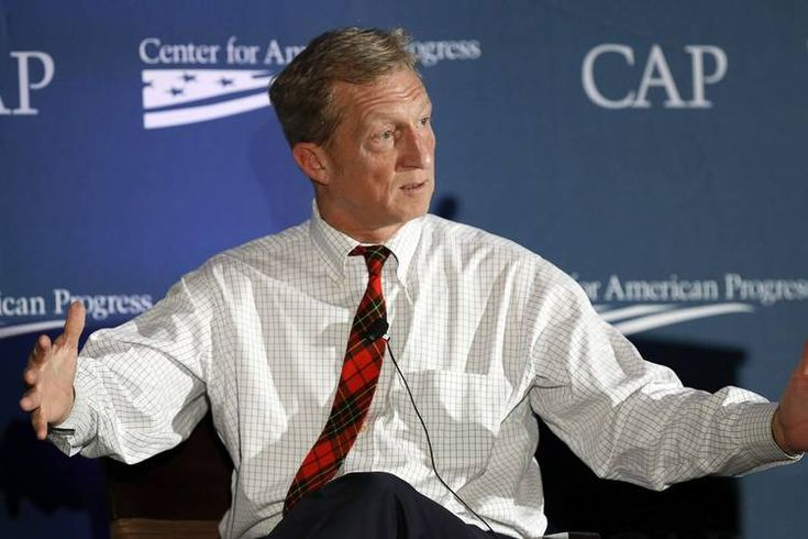 Tom Steyer: Candidates Who Want My Support Must Be Aggressive on Clean Energy - Washington Wire - WSJ
