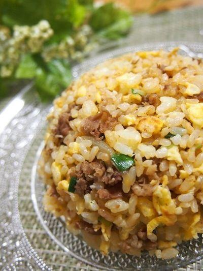 すき家の具で牛肉チャーハン by ゆずママさん | レシピブログ - 料理 ...